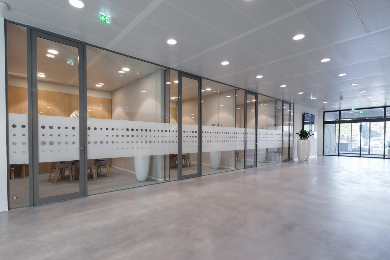 ESD Systeemwanden Rabobank Oisterwijk